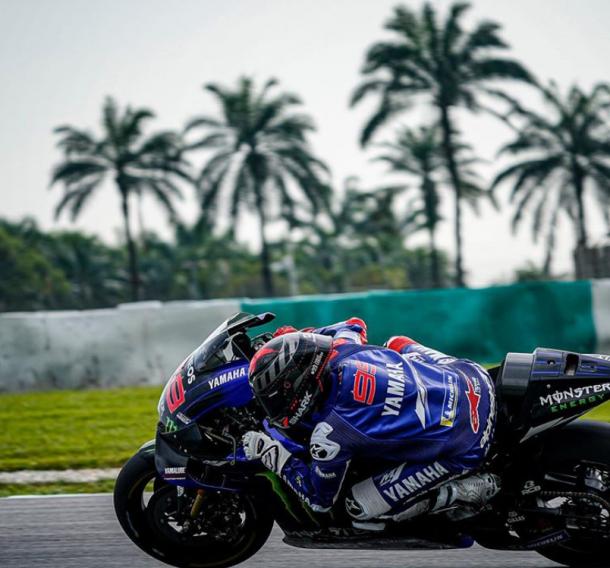 Jorge Lorenzo en el Circuito de Sepang. | Fuente: foto cedida por Jorge Lorenzo.