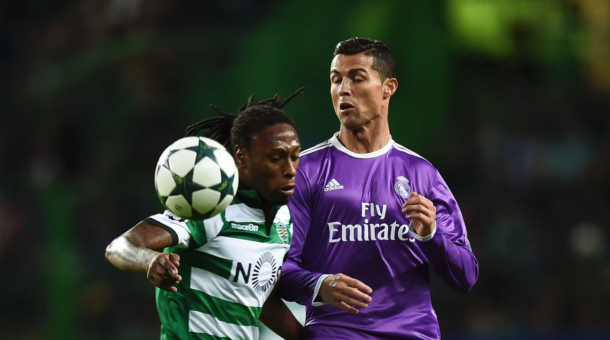 Cristiano regressou a Alvalade // Foto: AFP/Getty Images