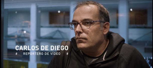 Carlos de Diego, guionista del documental | Foto: atresplayer.com