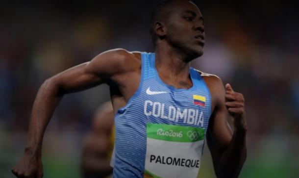 Diego Palomeque, atleta colombiano, en los Juegos Olímpicos de Río 2016. Imagen: elheraldo.co