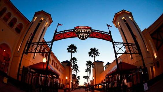 El wide world of sports complex de ESPN. Imagen: ESPN Images