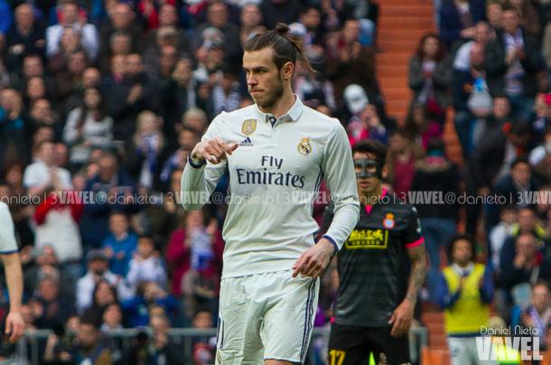 Gareth Bale en el partido de Liga ante el Espanyol/ FOTOGRAFÍA: Daniel Nieto (VAVEL).