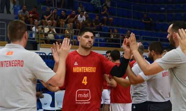 Montenegro se encomendará a Vucevic. | Fotografía: FIBA.com