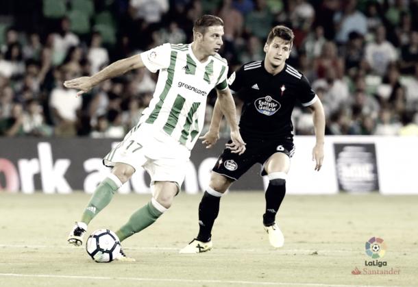 Imagen del partido frente al Celta de Vigo de la jornada 2 // Foto: www.laliga.es