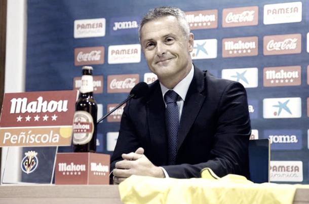 Fran Escribá espera que la afición apoye al equipo // Foto: www.villarrealcf.es