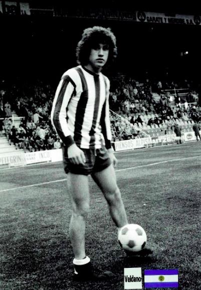 Jorge Valdano militando en el Alavés, en Segunda División / Foto: Alavés