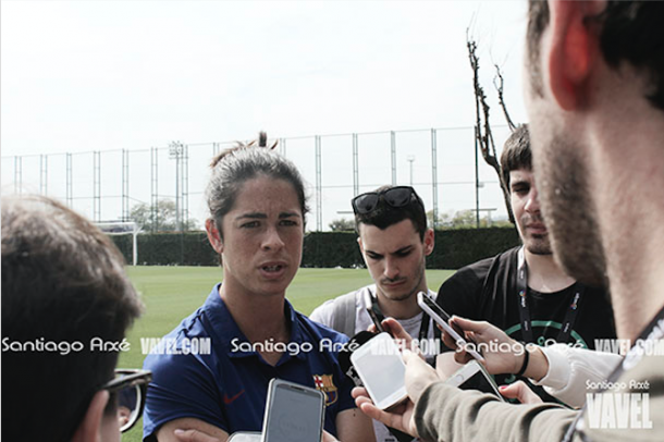 Marta Torrejón cree en el nuevo proyecto. | Fotografía: Santiago Arxé (VAVEL España)