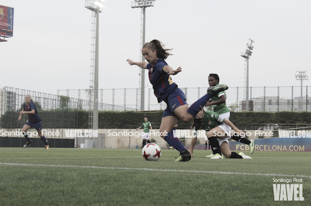 Lieke Martens está enamorando en Barcelona. | Fotografía: Santiago Arxé (VAVEL España)