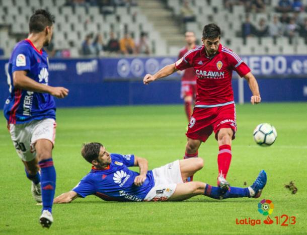Verdés demuestra su intensidad en el campo | Imagen: La Liga 1|2|3