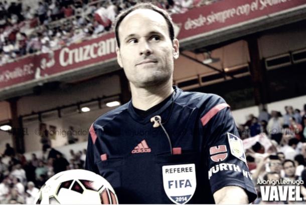 Mateu Lahoz, árbitro para el partido frente al Getafe / Foto: Vavel