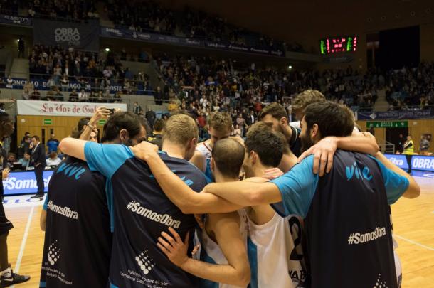 El trabajo de los gallegos está siendo impresionante. | Fotografía: @OBRADOIROCAB