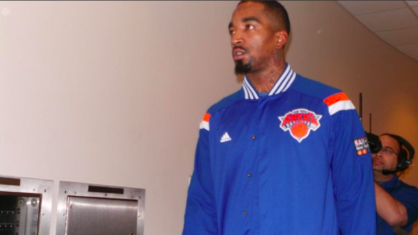 JR Smith cuando formaba parte de la franquicia de los New York Knicks | Foto: New York Knicks