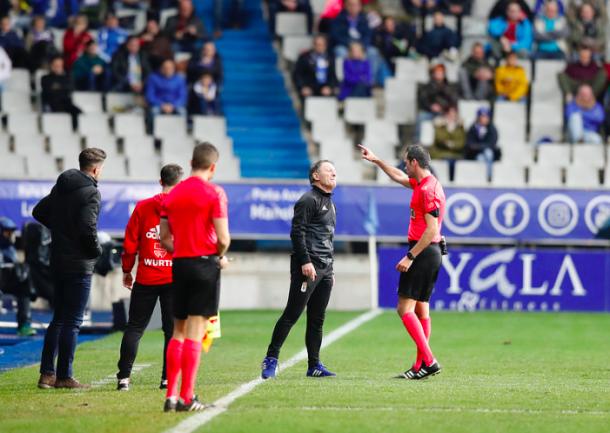 Anquela se perderá dos de los partidos más importantes de la temporada   Imagen: Real Oviedo