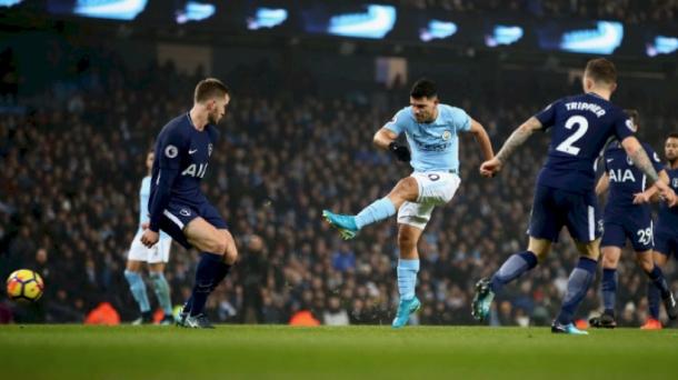 Agüero fue una de las primeras grandes estrellas del City. | Fotografía: Manchester City
