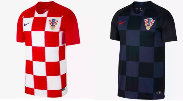 Las equipaciones de Croacia en Rusia | Nike