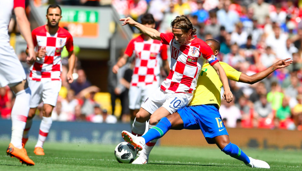 Luka Modrić, un comandante en la sala de máquinas de Croacia | Getty Images