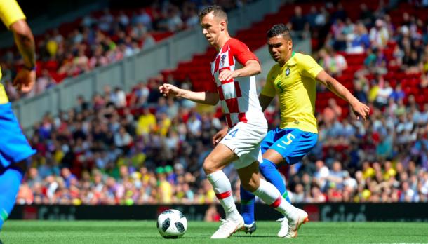 Ivan Perišić ante Brasil | Getty Images