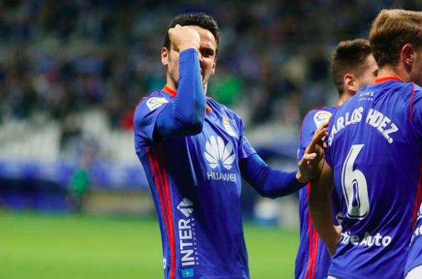 Ramón Folch, uno de los futbolistas de mayor rendimiento | Imagen: Real Oviedo