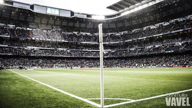 Estadio Santiago Bernabéu. Foto: Dani Mullor (VAVEL).