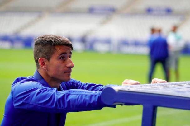 Saúl Berjón, capitanía y experiencia | Imagen: Real Oviedo
