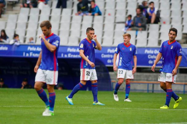 David Rocha disfrutó de minutos con Anquela | Imagen: Real Oviedo