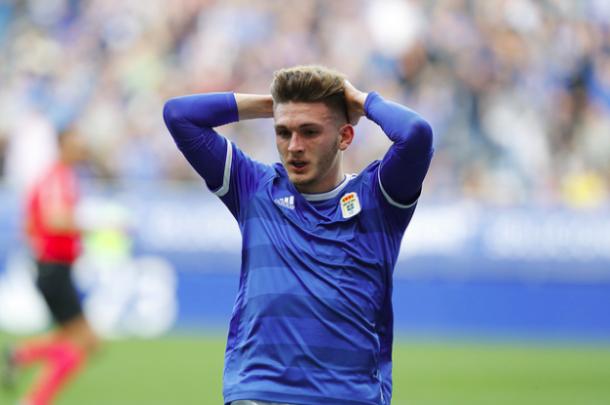 Viti podría tener cada vez más oportunidades |Imagen: Real Oviedo