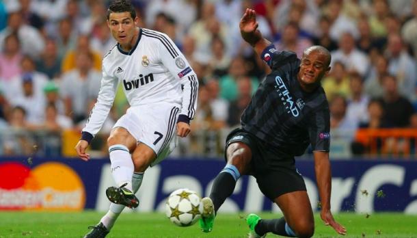 El gol de Cristiano Ronaldo al Manchester City. Foto: Liga Santander.