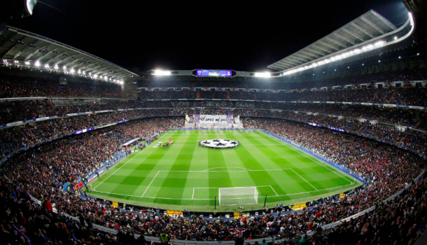 El Bernabéu, pletórico. Foto: Real Madrid.