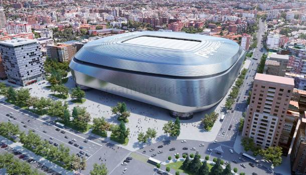 Así será el nuevo Bernabéu. Foto: Real Madrid.
