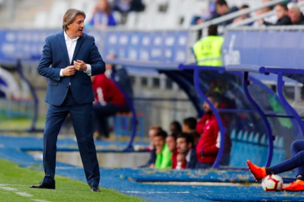 Sergio Egea regresó al Tartiere | Imagen: Real Oviedo