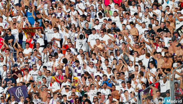 Se espera un Santiago Bernabéu abarrotado. Foto: Real Madrid.