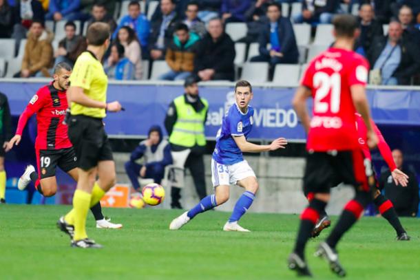 Gran temporada del joven zaguero |Imagen: Real Oviedo