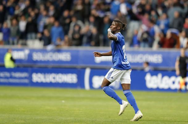 Se esperan grandes cosas de Ibra | Imagen: Real Oviedo