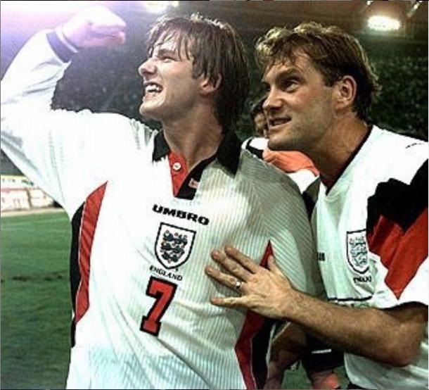 David Beckham llegó a ser capitán de la selección inglesa   Foto: @davidbeckham