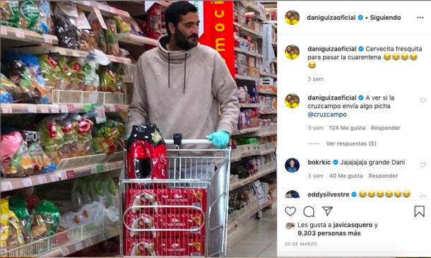 Post de Dani Güiza en su cuenta personal | Fuente: daniguizaoficial (Instagram)