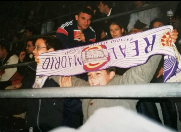 Lucas Vázquez fue un fiel seguidor del Real Madrid desde niño | Foto: @lucasvazquez91