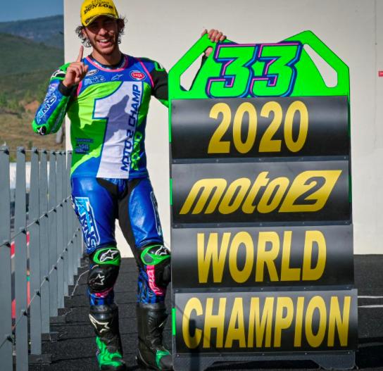 Nuevo Campeón de Moto2 / Fuente: motogp.com