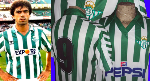 Hummel, primera marca en vestir al Betis // Foto: www.realbetissportbar.com