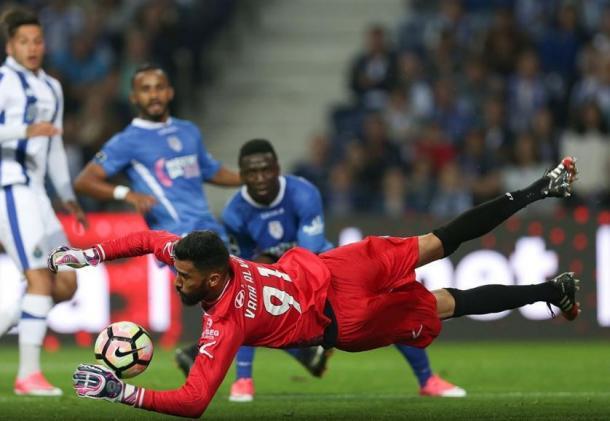 Vaná segurou o empate até ao fim | Foto: Mais Futebol