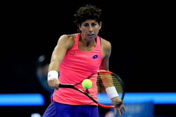 Carla Suarez Navarro in action at the China Open this year | Photo: Emmanuel Wong/Getty Images AsiaPac