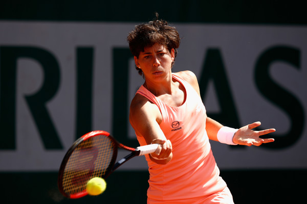 Carla Suarez Navarro in action | Photo: Adam Pretty/Getty Images Europe