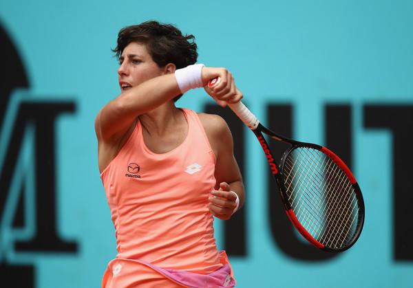 Carla Suarez Navarro in action | Photo: Julian Finney/Getty Images Europe