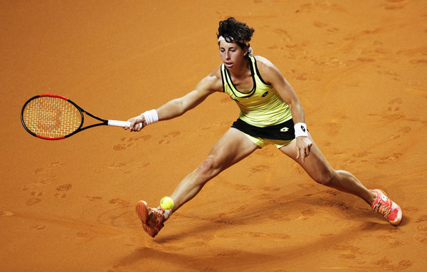 Carla Suarez Navarro put up an excellent display today | Photo: Adam Pretty/Bongarts
