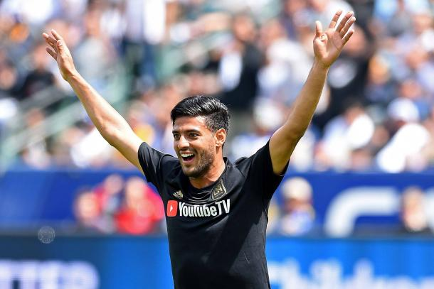 Carlos Vela got LAFC on the board first within five minutes. | Photo: Jayne Kamin-Oncea - Getty Images