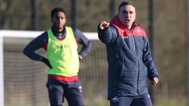 Carvalhal no tardó en poner mano a la obra | Foto: Swansea City.