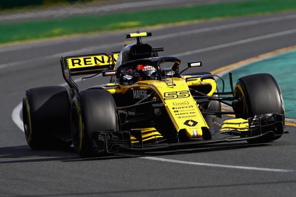 Sainz con el Renault durante el GP de Australia. Fuente: Getty Images