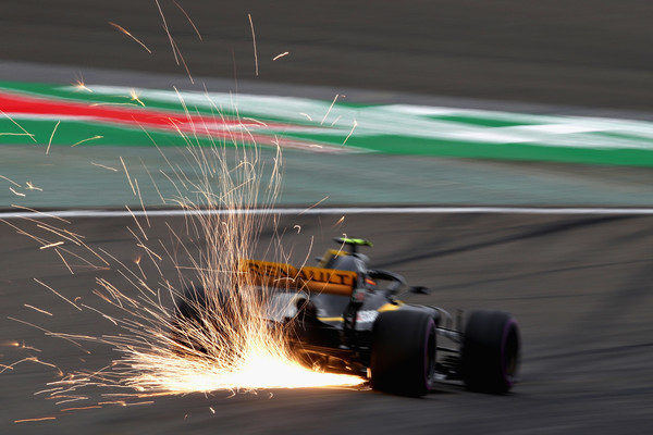 Carlos Sainz durante el GP de China. Fuente: Getty Images