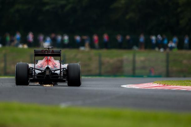 Carlos Sainz durante el GP de Japón | Fuente: Getty Images
