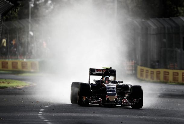 Carlos Sainz logró la mejor posición de Toro Rosso en 2017: 4º | Foto: Getty Images