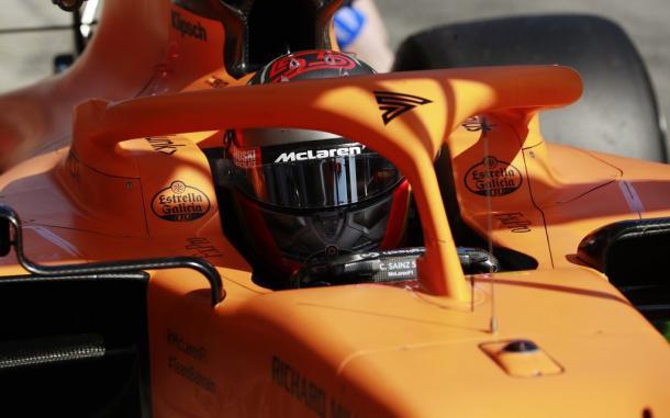 Carlos Sainz test pretemporada F1 2020 / Fuente: Steven Tee/McLaren F1